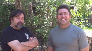 Marc MacYoung & Alain Burrese BBQ 2013