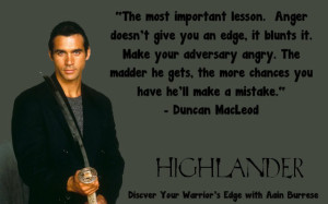 Highlander Quotes Amazing Stay Cool To Defend Yourself