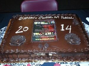 kmaf 2014 cake