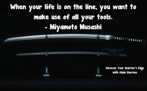 Musashi use all your tools