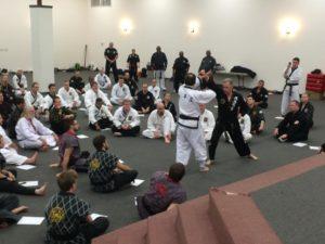 Dr. Kimm teaching
