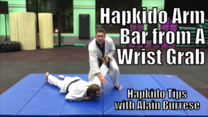 Hapkido Arm Bar from Wrist Grab with Alain Burrese cover