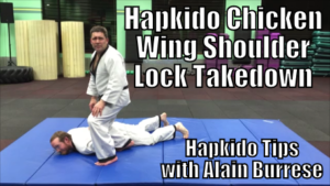 Hapkido Chicken Wing Shoulder Lock Takedown with Alain Burrese cover
