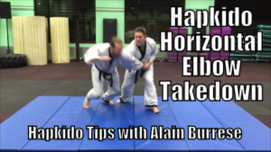 Hapkido Horizontal Elbow Takedown with Alain Burrese cover