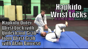 Hapkido Outer Wrist Lock with Underhand Grab from Wrist Grab with Alain Burrese cover