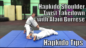 Hapkido Shoulder Twist Takedown with Alain Burrese cover