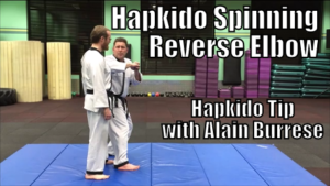 Hapkido Spinning Reverse Elbow with Alain Burrese cover
