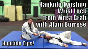 Hapkido Twisting Wrist Lock from Wrist Grab with Alain Burrese cover