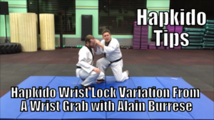 Hapkido Wrist Lock Variation From A Wrist Grab with Alain Burrese cover