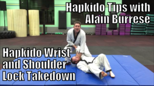 Hapkido Wrist and Shoulder Lock Takedown with Alain Burrese cover