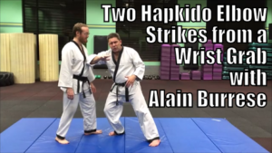 Two Hapkido Elbow Strikes from a Wrist Grab with Alain Burrese cover